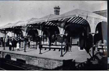 The station about 1910 [Z50/91/78]